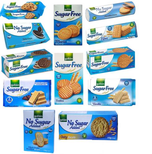 Gullon Sugar Free Biscuits Variety No Sugar Added Cookieswafersshortbread