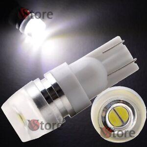 2 Led T10 Lampade 2 Smd 5630 Luci Bianco Lente Posizione Targa Auto Lampada 5w