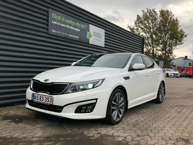 Kia Optima 2,0 MPi Advance Benzin modelår 2015 km 74000…