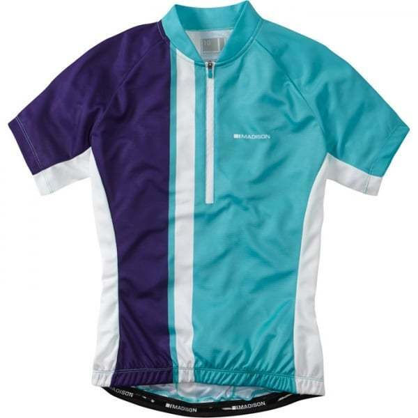 Madison Tour Women's Short Sleeve Cycle Cycling Jersey