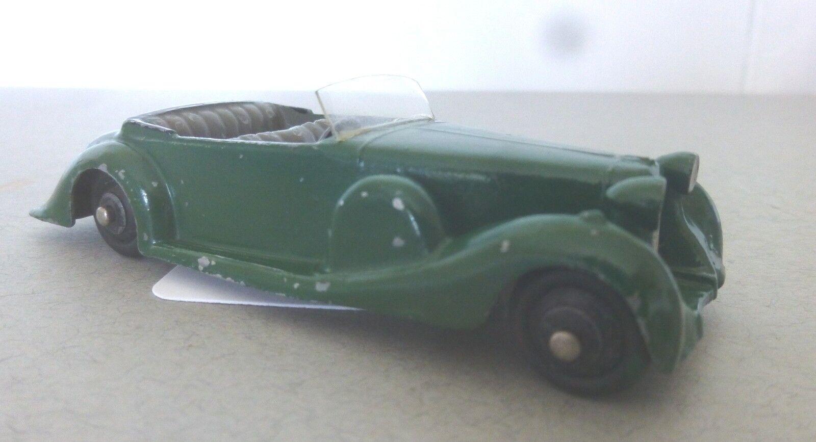 Dinky Toys Toys Toys versión preliminar del coche deportivo Lagonda Open tourer década de 1940 Dinky Toys 822411