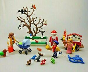 Playmobil-4152-Spielset-Weihnachten-im-Park-Christmas