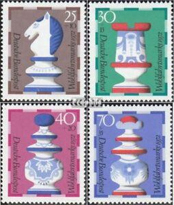 BRD-742-745-kompl-Ausgabe-postfrisch-1972-Wohlfahrt-Schachfiguren