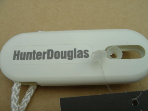 "2 EA 48/"" WHITE CONTINUOUS CORD LOOP HUNTER DOUGLAS SPRINGS FITS ALL CELL SHADES"