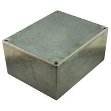 Thin Wall Diecast Aluminium Project Box 125x125x79mm
