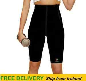 Workout-Slimming-Sweat-Weight-Loss-Gym-Ladies-Neoprene-Compression-Sauna-Shorts