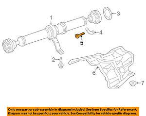 Details about AUDI OEM 12-18 A6 Quattro Drive Shaft-Rear-Drive Shaft Bolt  N10719001