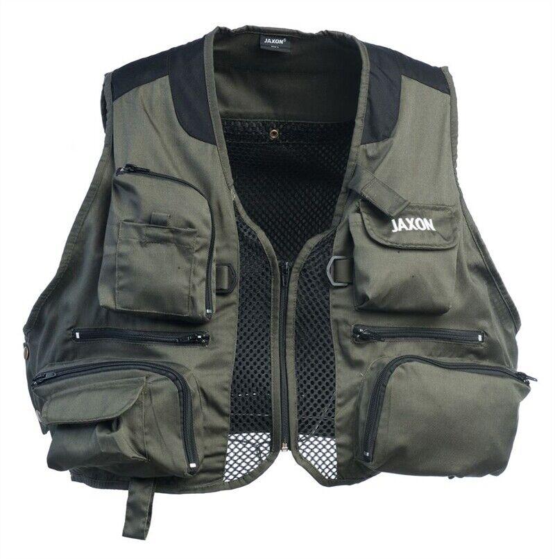 Jaxon FRA Wading Fly Vest All Sizes Full Range Game Fly Fishing