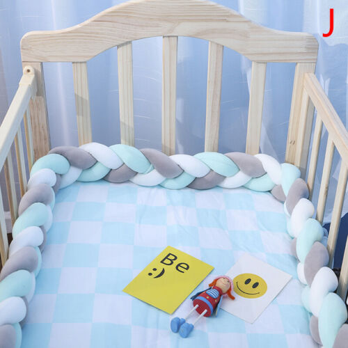 3.5M Length of baby nests Head guard Knot cushion Bed Baby cot✔GQ