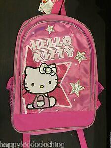 94dba0fae724 HELLO KITTY SCHOOL BAG BACKPACK FOR GIRLS 16