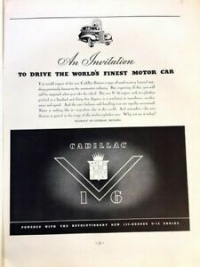 1938-Cadillac-V16-Finest-Vintage-Advertisement-Print-Art-Car-Ad-Poster-LG73