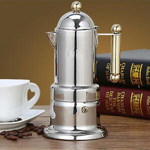 Stainless Steel Moka Percolator Pot