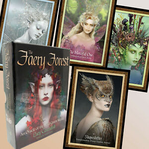 THE-FAERY-FOREST-FAIRY-ORACLE-OF-THE-WILD-GREEN-WORLD-LUCY-CAVENDISH-45-CARDS
