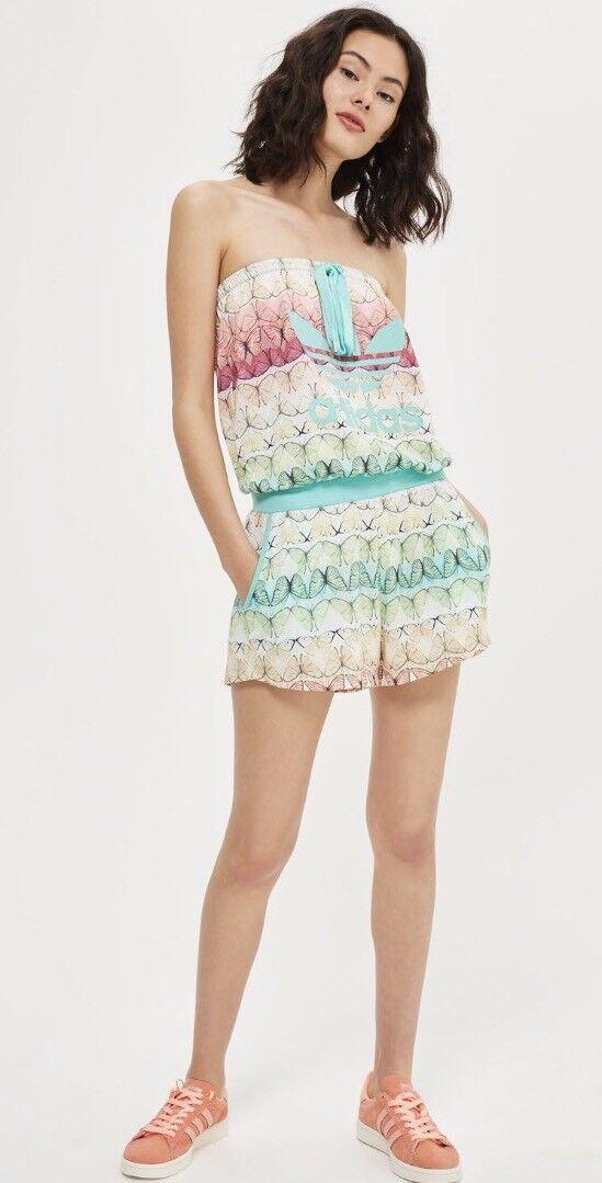 Adidas Originals - Jumpsuit mit Schmetterlingsdruck für Damen Größe 6