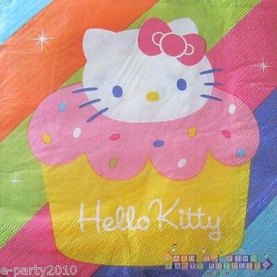 Cupcake Party Supplies Small Napkins