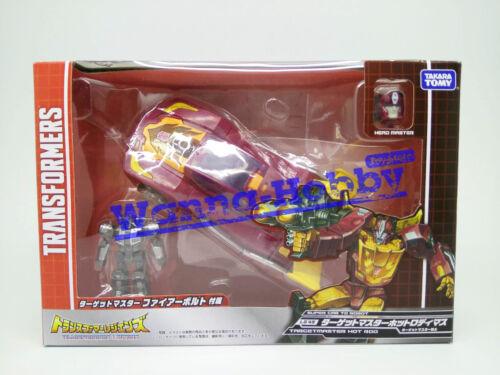 63790 Takara Tomy Transformers Legends LG45 Target Master Hot Rod