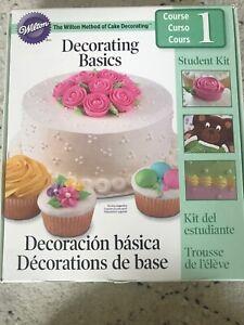 Wilton Cake Decorating Student Kit Course 3 - New ...