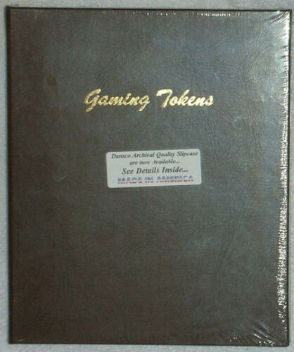 Dansco Coin Album 7006 Gaming Tokens 9 2x2 pages
