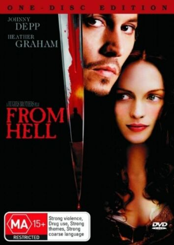 1 of 1 - From Hell (DVD, 2005) Region 4 (VG Condition)