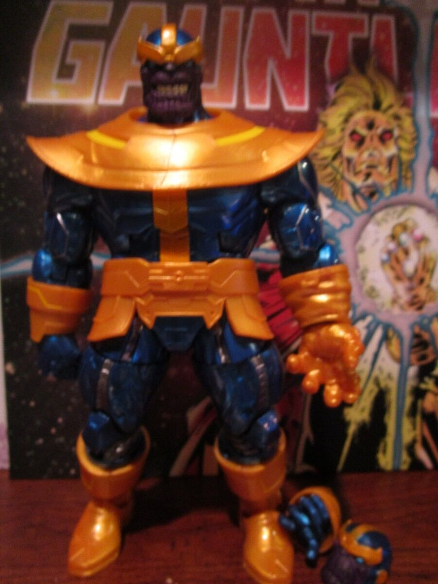 Marvel Legends 6-Inch Series Thanos Exclusive Action Figure loose