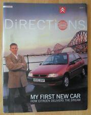 CITROEN DIRECTIONS 1998 UK Mkt In-House Magazine Brochure - Issue 21