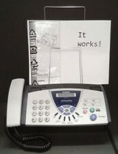 Brother Fax 575 Personal Plain Paper Fax Phone Copier With Manual Working
