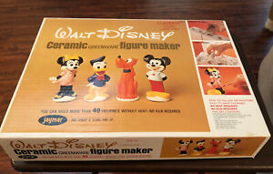 Walt-Disney-Ceramic-Figurine-Maker-Vintage-Disneyland-Mickey-Minnie-Mouse-Molds