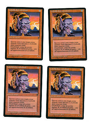 Legends Original EX+ Magic MTG Wall of Shadows x4