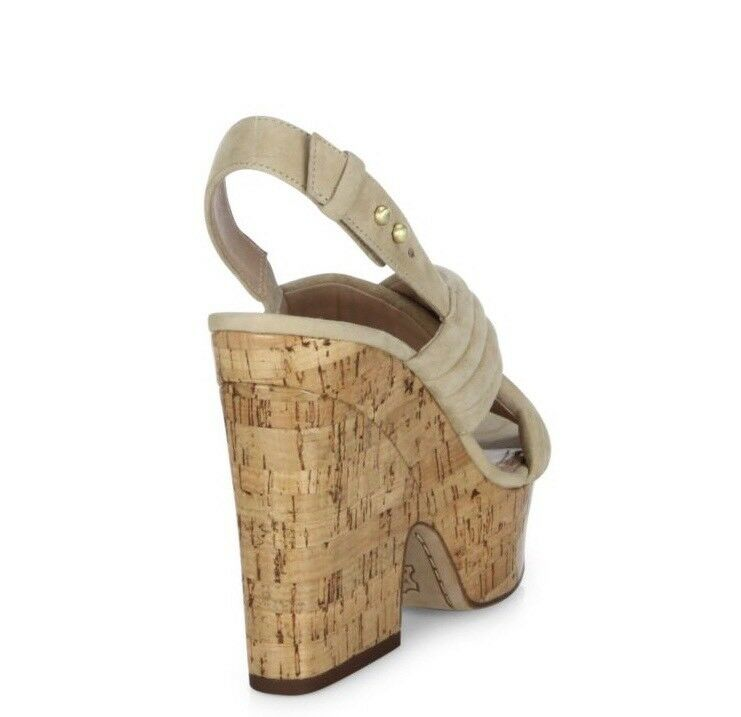 Alice and Olivia Charlize Chunky Suede Platform Sandals- Sandals- Sandals- Brand New eebaae