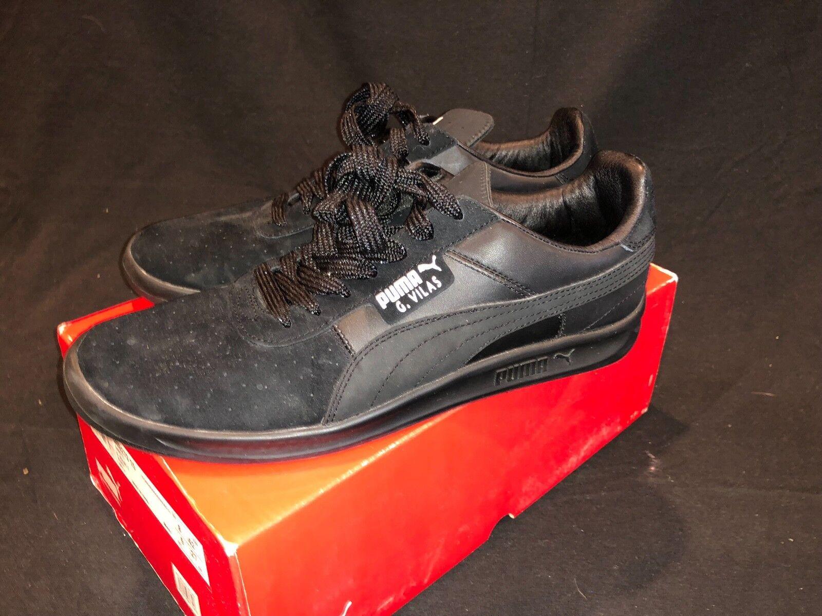 Brand New in Box PUMA G. Vilas 2 Mens Shoes Black Sz 9 34927315