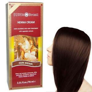 1 Henna Dark Brown Cream Surya Brasil 2 3 Oz Ebay