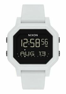 New-Nixon-Women-039-s-Siren-Digital-Watch-White