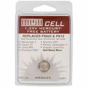Wein-Cell-EPX-PX625-PX13-MRB625-mercury-replacement-battery-1-35v-New-UK-Seller