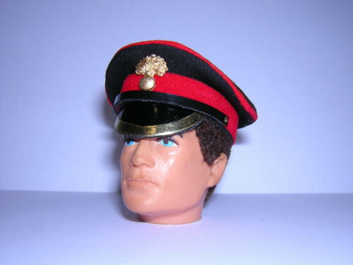 Banjoman 1:6 Scale Custom Grenadier Guards Peaked Cap For Action Man G I Joe