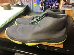 meet 50e4e ff8ec Image is loading Nike-Air-Jordan-Future-Dark-Grey-Volt-Size-