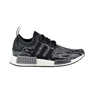 340732937 Adidas NMD R1 Primeknit Mens Shoes Core Black Core Black Grey bz0223 ...