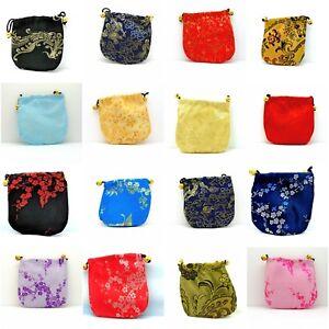 Jewellery-Pouch-Purse-Bag-Chinese-Pattern-Handmade-Satin-Silk-Valentine-Gift-New