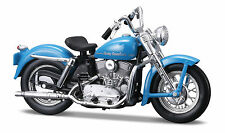 Harley Davidson 1952 K Model 1:18 blau Motorrad Modell die cast model