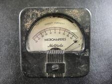 Vintage Motorola Microampers Meter
