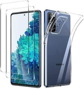Samsung Galaxy S20 Fe Vetro Protezione Schermo IN Temperato+ Custodia Silicone