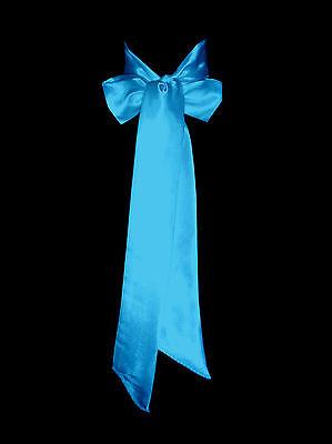 Turquoise Double Faced Satin Ribbon Sash Bridal Wedding Bridesmaid Brand New