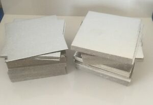 50-X-3-034-INCH-7-5cm-SQUARE-SILVER-Cake-THIN-Cards-Wedding-Cut-Edge-Boards