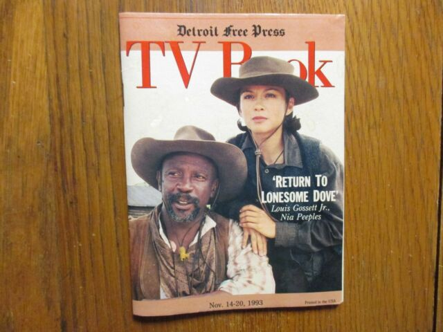 Nov-1993 Detroit Free Press TV Book/Magazine(NIA PEEPLES/RETURN TO LONESOME DOVE