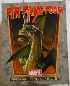 Marvel Comics - Mini buste / statue avec une boîte, Fin Fang Foom de Bowen Iron Man