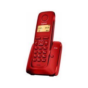 TELEFONO-SIEMENS-GIGASET-A120-ROJO