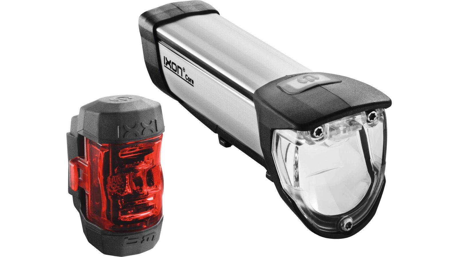 0.310.764 6 B & M LED Batteria Set di Luci Ixon Core Anteriore e Posteriore