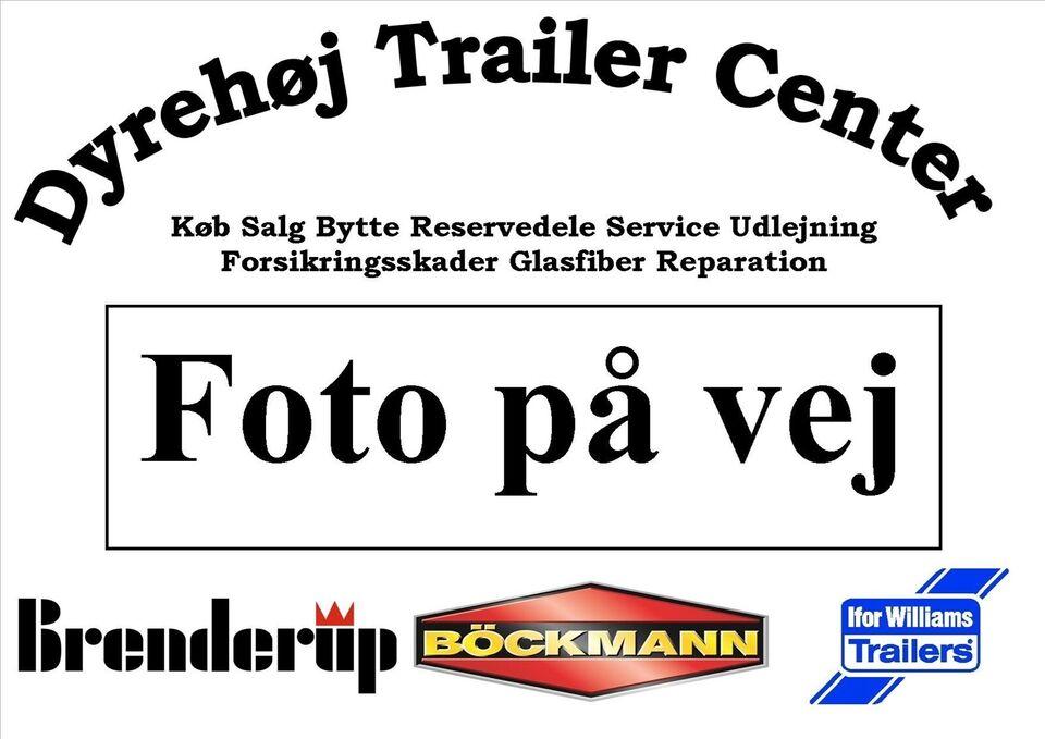 Trailer Variant Maskintrailer år 2006 med net, lastevne