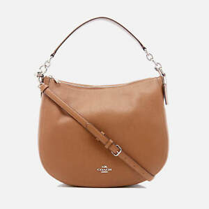 Bag Coach New Tan Hobo Chelsea Saddle ShoulderCrossbody Leather 32 kn8P0wO