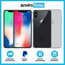 Apple iPhone X (iPhone 10) 64GB 256GB All Colours Unlocked SIM Free Smartphone
