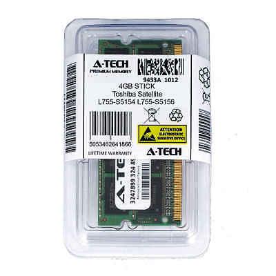 4GB SODIMM Toshiba Satellite L755-S5154 L755-S5156 L755-S5161 Ram Memory